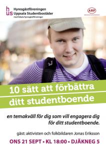 10 sätt att förbättra ditt studentboende